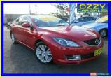 Classic 2008 Mazda 6 GH Classic Red Automatic 5sp A Sedan for Sale