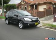 2009 Honda CRV Special Edition Manual 6 Speed 115730 Kms Service Log Book  for Sale