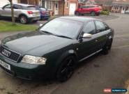 Audi S6 Quattro not RS6/RS4/A6 4.2v8 . Private reg inc. Carl, Carlson, Casi for Sale