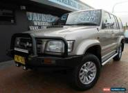 2002 Holden Jackaroo U8 Equipe Gold Automatic 4sp A Wagon for Sale