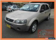 2005 Ford Territory SY TX (4x4) Champagne Automatic 6sp A Wagon for Sale