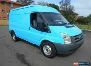 2011 Ford Transit VM MY08 Mid (MWB) Blue Manual 6sp M Van for Sale