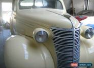 1938 chevrolet utility. Body no 250 for Sale