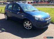 2008 Ford Fiesta 1.25 Zetec Blue - New MOT - Only 8 Miles for Sale