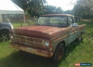 1969 Ford F-100 for Sale