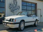1985 Ford Mustang Convertible for Sale