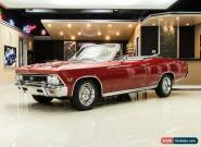 1966 Chevrolet Chevelle SS Convertible for Sale