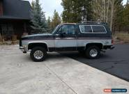 1990 Chevrolet Other Pickups Silverado for Sale