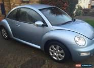 2003 VOLKSWAGEN BEETLE AUTO BLUE for Sale