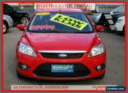 2011 Ford Focus LV MY11 LX Red Automatic 4sp A Sedan for Sale