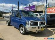 2011 Volkswagen Transporter T5 Blue Manual M Cab Chassis for Sale