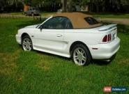 1996 Ford Mustang GT CONVERTIBLE for Sale
