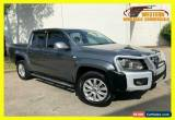 Classic 2012 Volkswagen Amarok Grey Manual M Utility for Sale
