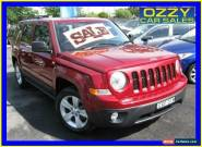 2012 Jeep Patriot MK MY12 Sport (4x2) Red Manual 5sp M Wagon for Sale