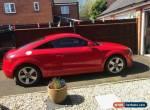 2008 2.0L Audi TT SFI Turbo in Red 200 BHP. 3 door 6 Speed Manual  for Sale