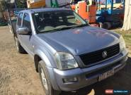 HOLDEN RODEO DUAL CAB UTE for Sale