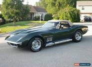 1969 Chevrolet Corvette Convertible for Sale
