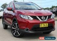 2014 Nissan Qashqai TI Red Automatic A Wagon for Sale