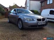 2003 BMW 520I SE, E60/e61, long MOT (not 525d, 530d) for Sale