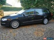 VW Passet 2.0 TDI Highline estate (black) 140 BHP - inc 1 year MOT, FSH & Towbar for Sale