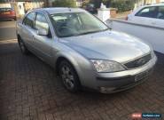 2004 FORD MONDEO GHIA SILVER...VERY EASY SPARES OR REPAIRS for Sale