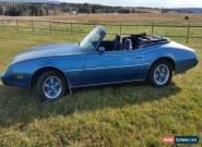 1980 Pontiac Firebird N.C.E Convertible for Sale