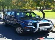 2004 Jeep Cherokee Limited Automatic 4sp Petrol 4x4 3.7L SUV  for Sale