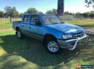 2001 Holden Rodeo TFR9 LT (4x4) Blue Manual 5sp M Crew Cab Pickup for Sale