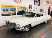 1963 Cadillac DeVille -FRAME OFF RESTORED 2017 CONVERTIBLE FUN-NUMBERS M for Sale