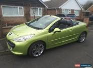 peugeot 207cc  GT 1.6 stunning condition roadster for Sale