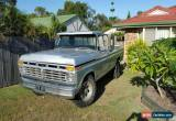 Classic 1974 Ford F100 Ute Manual 351 Cleveland V8 for Sale