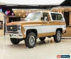 Classic 1979 Chevrolet Blazer Cheyenne 4X4 for Sale
