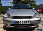 2003 FORD FOCUS ZETEC SILVER for Sale