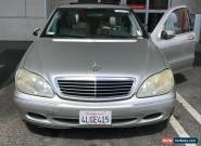 2001 Mercedes-Benz S-Class for Sale