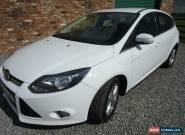 Ford Focus Zetec TDCi 5 Door Hatchback in White for Sale