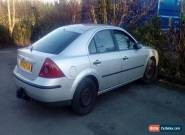 2002 FORD MONDEO LX SILVER 2.0   120 K MILES  3 MTHS MOT HPI CLEAR for Sale