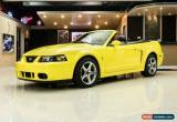 Classic 2003 Ford Mustang SVT Cobra Convertible for Sale