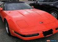 1993 Chevrolet Corvette C4 for Sale