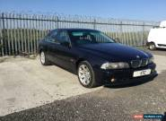 2003 (52) BMW 525 2.5i Se auto**LONG M.O.T**DRIVES GREAT** for Sale