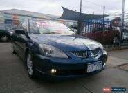 2003 Mitsubishi Lancer CH VR-X Blue Automatic 4sp A Sedan for Sale
