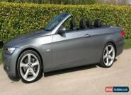 BMW 335i SE Convertible Low Mileage 48K FSH Just Serviced & MOT'd for Sale