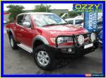 2008 Mitsubishi Triton ML MY08 VR (4x4) Maroon Manual 5sp M Double Cab Utility for Sale
