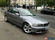 2004 BMW 320 CD AUTO GREY for Sale