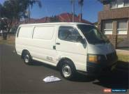2002 Toyota HiAce RZH103R Automatic A Van for Sale
