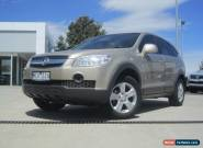 Holden Captiva SX (4x4) (2007) 4D Wagon Manual (2L - Diesel Turbo F/INJ) 5 Seats for Sale