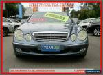 2004 Mercedes-Benz E240 211 Elegance Blue Automatic 5sp A Sedan for Sale
