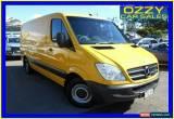 Classic 2012 Mercedes-Benz Sprinter 906 MY11 313 CDI MWB Yellow Manual 6sp M Van for Sale