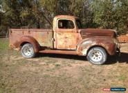 1946 FORD JAILBAR for Sale