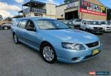 Classic 2009 Ford Falcon BF Mk III XT Blue Automatic A Wagon for Sale