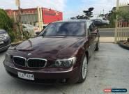 BMW 740i 2005 V8 - Superb Condition - 132,000 kms only  for Sale